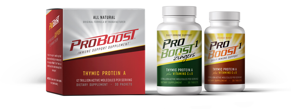 ProBoost Thymic Protein A & ProBoost 1 Tablets - Immune System Supplement